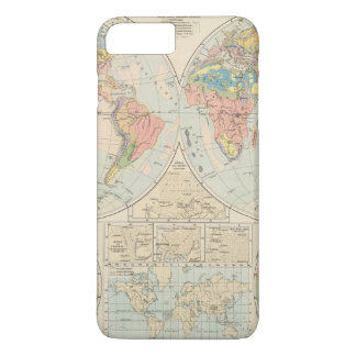 Coque iPhone 8 Plus/7 Plus Grund u Boden - carte d'atlas de sol