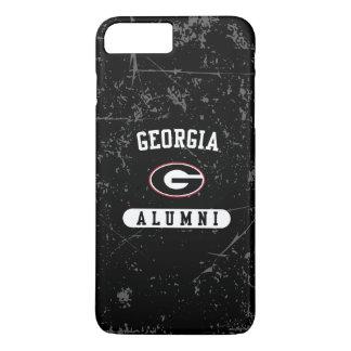 Coque iPhone 8 Plus/7 Plus Grunge des anciennes élèves   de la Géorgie