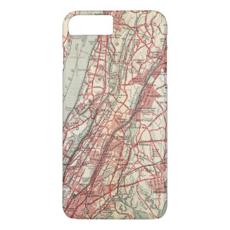 Coque iPhone 8 Plus/7 Plus Harlem, Yonkers, manoir de Pelham, New York