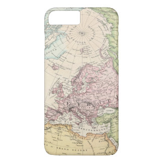 Coque iPhone 8 Plus/7 Plus Hémisphère oriental de l'Europe