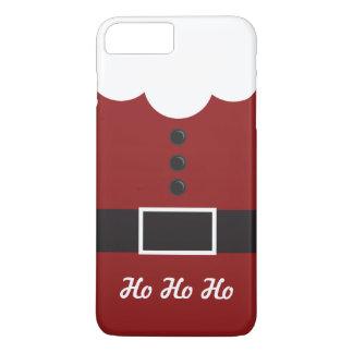 Coque iPhone 8 Plus/7 Plus Ho Ho Ho cas plus de l'iPhone 7 de Noël de costume