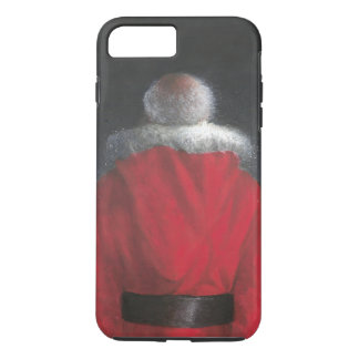 Coque iPhone 8 Plus/7 Plus Homme dans le manteau rouge