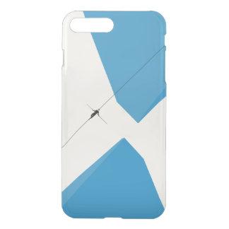 Coque iPhone 8 Plus/7 Plus Homme sur le fil dans le bleu