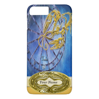 Coque iPhone 8 Plus/7 Plus Horoscope de conception d'astrologie de zodiaque