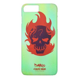 Coque iPhone 8 Plus/7 Plus Icône principale du peloton | Diablo de suicide