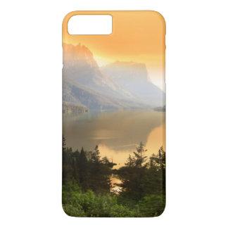 Coque iPhone 8 Plus/7 Plus Île sauvage d'oie en parc national de glacier