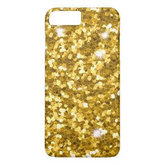 Coque iPhone 8 Plus/7 Plus iPhone 6/6S de scintillement d'or plus à peine là