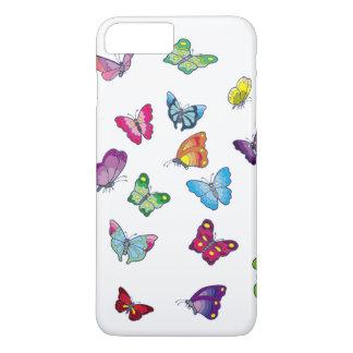 Coque iPhone 8 Plus/7 Plus iPhone d'Apple de papillon 8 Plus/7 plus, cas de