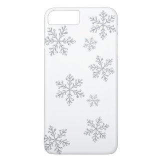 Coque iPhone 8 Plus/7 Plus iPhone en cristal scintillant 7 de flocons de
