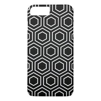 Coque iPhone 8 Plus/7 Plus iPhone géométrique noir et blanc 7 Ca plus de