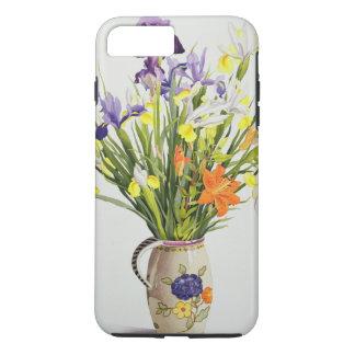 Coque iPhone 8 Plus/7 Plus Iris et lis dans une cruche néerlandaise