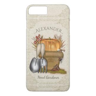 Coque iPhone 8 Plus/7 Plus Jardinage mignon d'automne