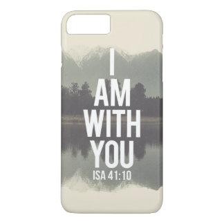 Coque iPhone 8 Plus/7 Plus Je suis avec vous couverture de téléphone de 41:10