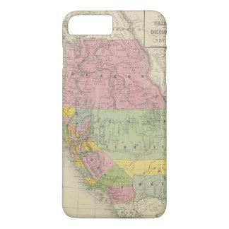 Coque iPhone 8 Plus/7 Plus La Californie, Orégon, Utah, Nouveau Mexique 3