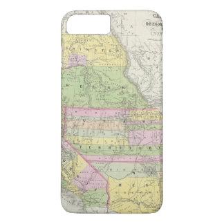 Coque iPhone 8 Plus/7 Plus La Californie, Orégon, Washington, Utah, Nouveau