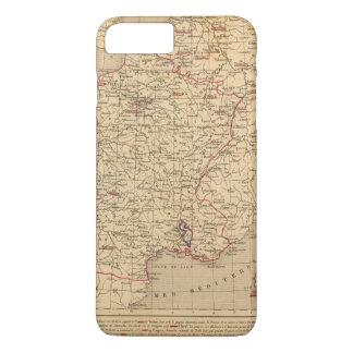 Coque iPhone 8 Plus/7 Plus La France 1715 un 1774