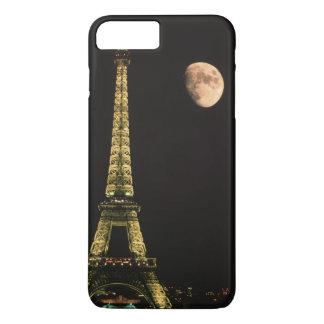Coque iPhone 8 Plus/7 Plus La France, Paris. Tour Eiffel la nuit avec