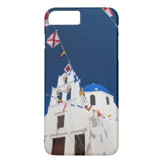 Coque iPhone 8 Plus/7 Plus La Grèce et l'île grecque de la ville de Santorini