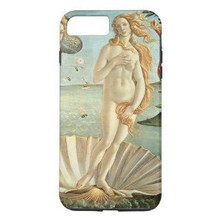 Coque iPhone 8 Plus/7 Plus La naissance de Vénus, c.1485 (tempera sur la