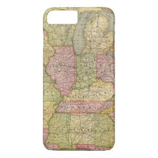 Coque iPhone 8 Plus/7 Plus La Pennsylvanie 6