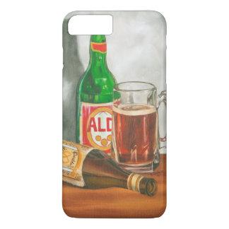 Coque iPhone 8 Plus/7 Plus La vie toujours avec de la bière par Jennifer
