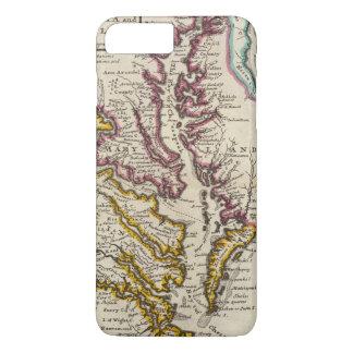 Coque iPhone 8 Plus/7 Plus La Virginie et le Maryland