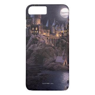 Coque iPhone 8 Plus/7 Plus Lac castle   de Harry Potter grand à Hogwarts