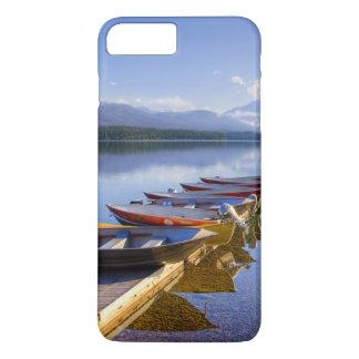 Coque iPhone 8 Plus/7 Plus Lac McDonald, parc national de glacier, Montana,