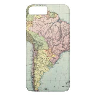 Coque iPhone 8 Plus/7 Plus L'Amérique du Sud 43