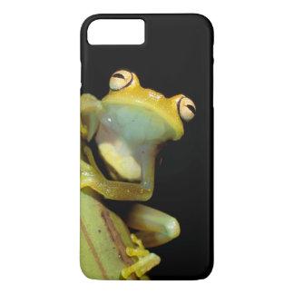 Coque iPhone 8 Plus/7 Plus L'Amérique du Sud, Equateur, Amazone. Grenouille