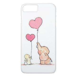 Coque iPhone 8 Plus/7 Plus L'amour est dans le ciel