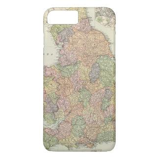 Coque iPhone 8 Plus/7 Plus L'Angleterre, Pays de Galles 2