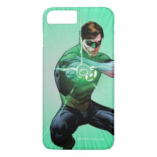 Coque iPhone 8 Plus/7 Plus Lanterne verte et anneau rougeoyant