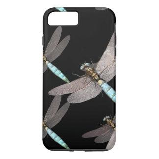 Coque iPhone 8 Plus/7 Plus L'Armée de l'Air de libellule sur le noir