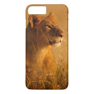 Coque iPhone 8 Plus/7 Plus Le Kenya : Réservation de jeu de Mara de masai,