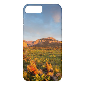 Coque iPhone 8 Plus/7 Plus Le lever de soleil allume le canyon 2 de Blackleaf