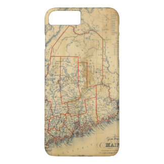 Coque iPhone 8 Plus/7 Plus Le Maine 18