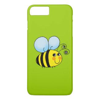 Coque iPhone 8 Plus/7 Plus le miel mignon gaffent l'abeille