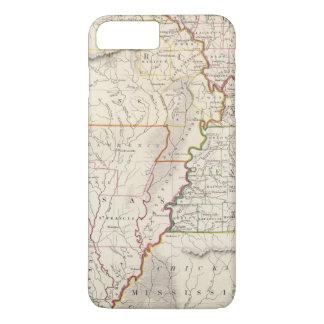 Coque iPhone 8 Plus/7 Plus Le Missouri, défectuosité, KY, Tenn, aile du nez,