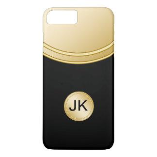 Coque iPhone 8 Plus/7 Plus Le monogramme professionnel des hommes