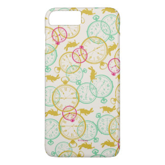 Coque iPhone 8 Plus/7 Plus Le motif blanc de lapin