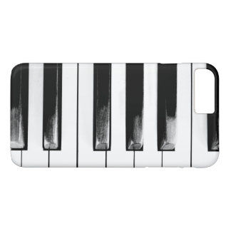 Coque iPhone 8 Plus/7 Plus Le piano antique verrouille le clavier
