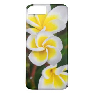 Coque iPhone 8 Plus/7 Plus Le Plumeria fleurit le plan rapproché, Hawaï