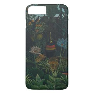 Coque iPhone 8 Plus/7 Plus Le rêve par Henri Rousseau, impressionisme vintage