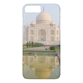 Coque iPhone 8 Plus/7 Plus Le Taj Mahal paisible tranquille au lever de