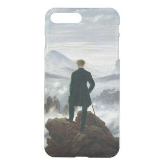 Coque iPhone 8 Plus/7 Plus Le vagabond au-dessus de la mer du brouillard,