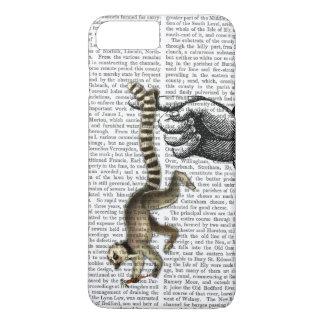 Coque iPhone 8 Plus/7 Plus Lémur coupé la queue par anneau sur le doigt 2
