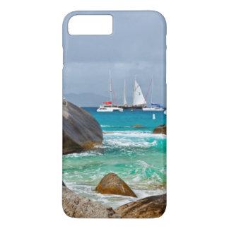 Coque iPhone 8 Plus/7 Plus Les bains, Vierge Gorda, Îles Vierges britanniques