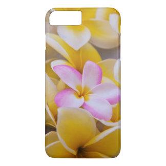 Coque iPhone 8 Plus/7 Plus Les Etats-Unis, Hawaï, Oahu, Plumeria fleurissent