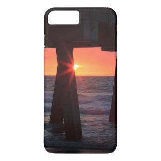 Coque iPhone 8 Plus/7 Plus Les Etats-Unis, la Géorgie, île de Tybee, pilier
